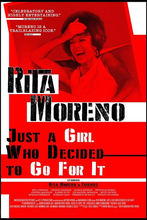 Rita Moreno: Just a Girl Who Decided to Go for It Poster