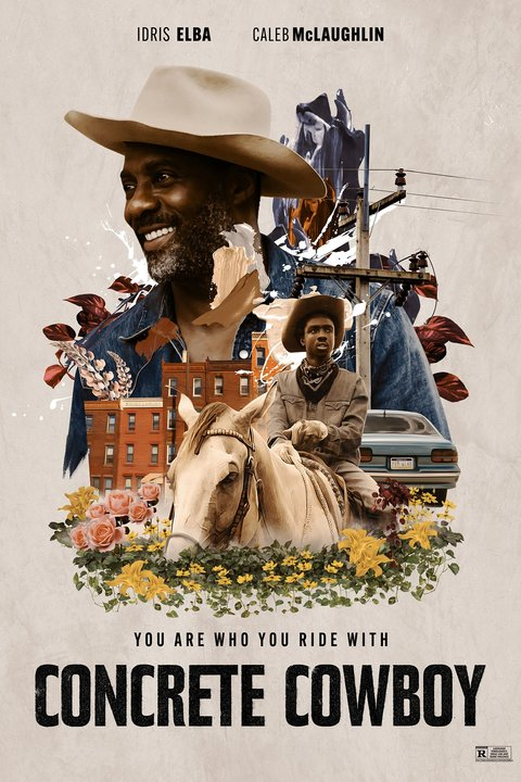Concrete Cowboy Poster