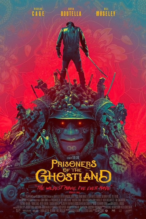Prisoners of the Ghostland Poster