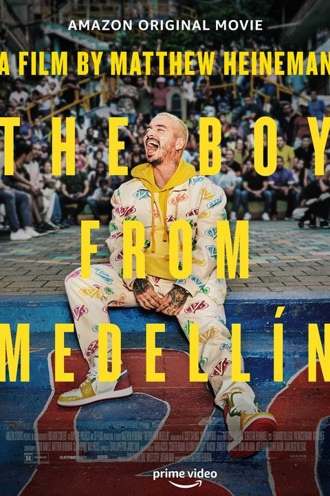 The Boy From Medellin Poster
