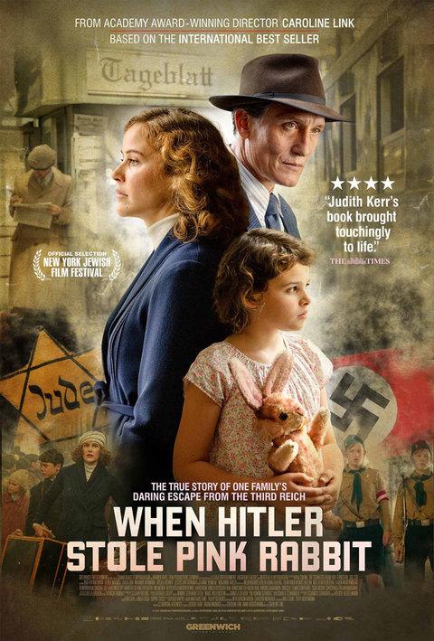 When Hitler Stole Pink Rabbit Poster