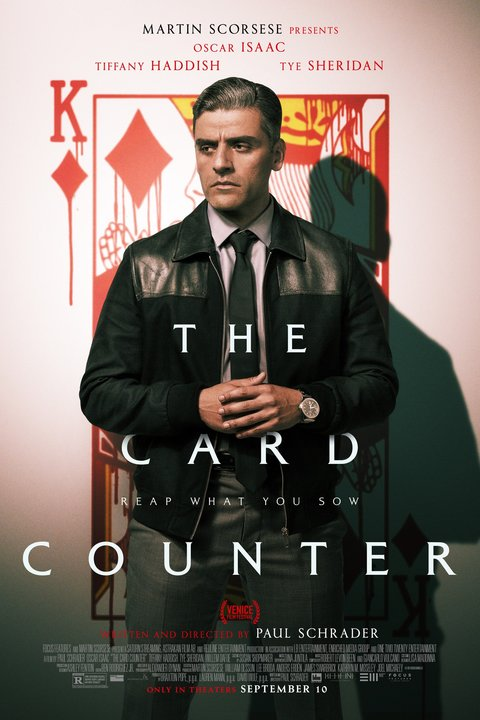 The Card Counter Poster