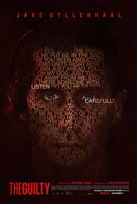 The Guilty (2021) Poster