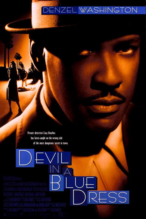 Devil in a Blue Dress Poster