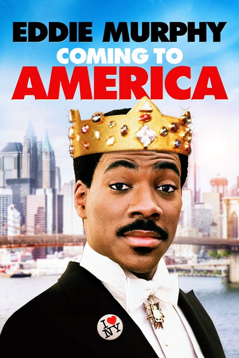 Coming to America Poster