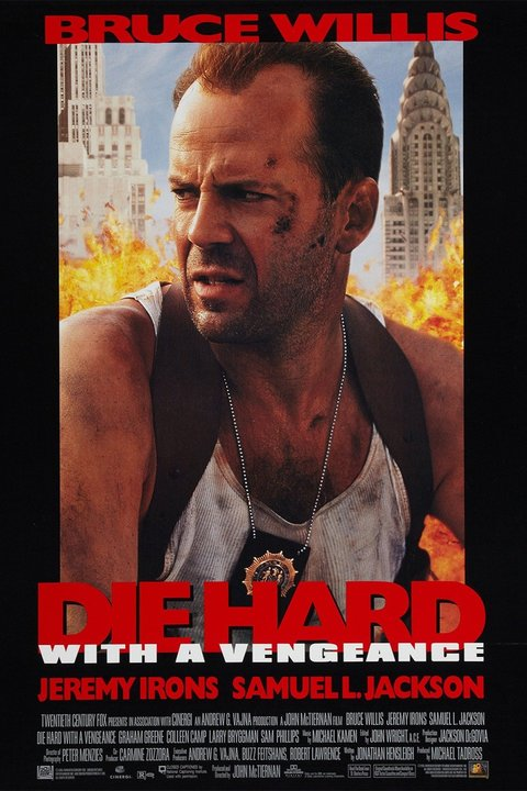 Die Hard With a Vengeance Poster