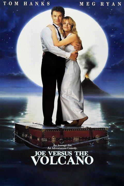 Joe Versus the Volcano Poster