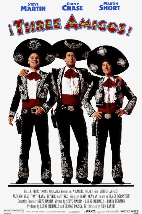 Three Amigos! Poster